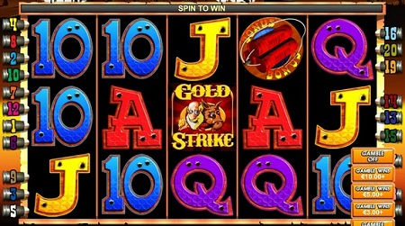 Taking a Look at Gold Strike Slot Online